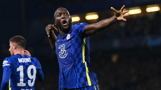 Romelu Lukaku voltou da melhor forma à Liga dos Campeões pelo Chelsea com o golo da vitória frente ao Zenit