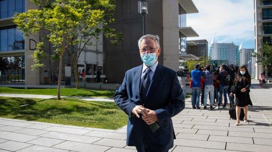 Armando Vara esteve presente na primeira e terceira sessões do julgamento