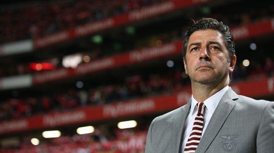 Rui Vitória ganhou seis títulos ao serviço do Benfica. Nunca foi aceite na totalidade pelos adeptos encarnados.