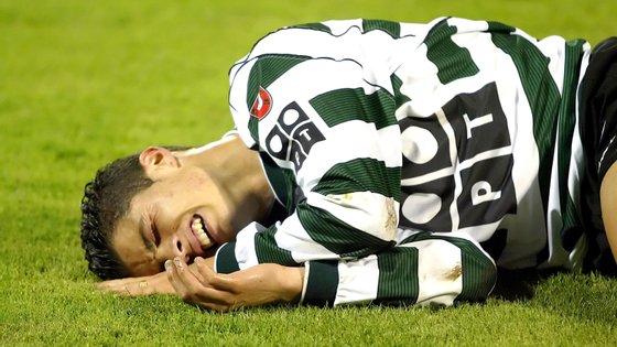 Cristiano Ronaldo jogou profissionalmente no clube lisboeta de 2001 a 2003