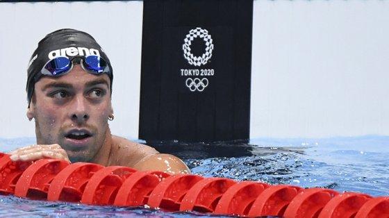 O italiano ficou com a medalha de prata nos 800 metros livres e a de bronze nas águas abertas
