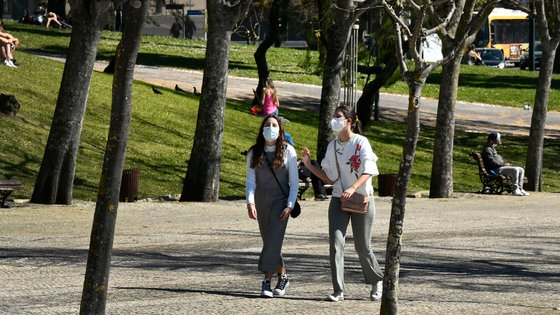 Daily Life In Lisbon Amid COVID-19 Pandemic