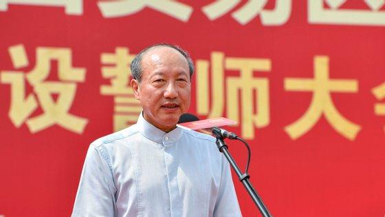 O presidente da HNA, Chan Feng, avisou por WeChat que tinha sido detido