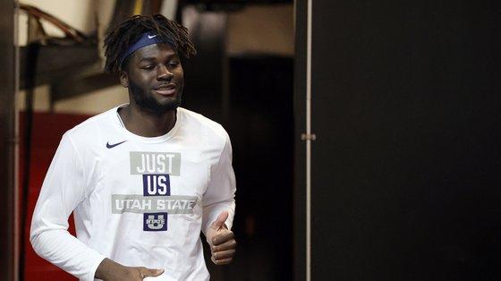 O jogador natural do Barreiro mudou-se para os Estados Unidos em 2018, para jogar nos Aggies