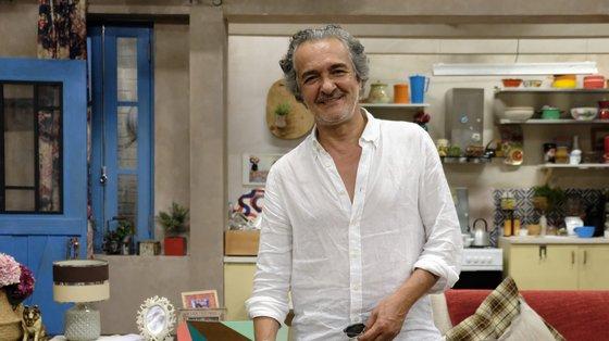 O ator está internado no Hospital Amadora Sintra