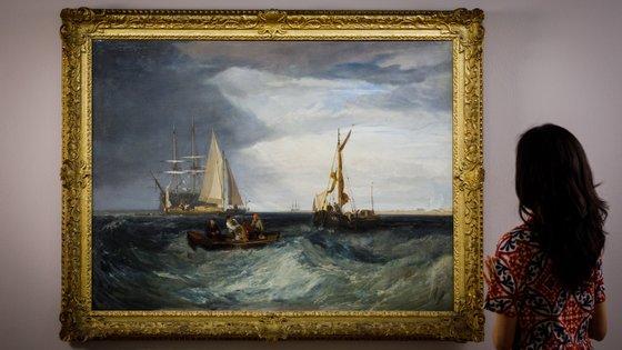 A pintura tem uma estimativa entre quatro milhões e seis milhões de libras esterlinas (entre 4,66 milhões e 6,99 milhões de euros)