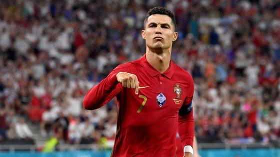 Ronaldo festejou assim