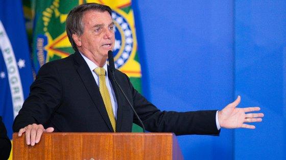 O inquérito sobrefake news-- e que agora inclui o nome do Presidente brasileiro -- foi aberto em 2019