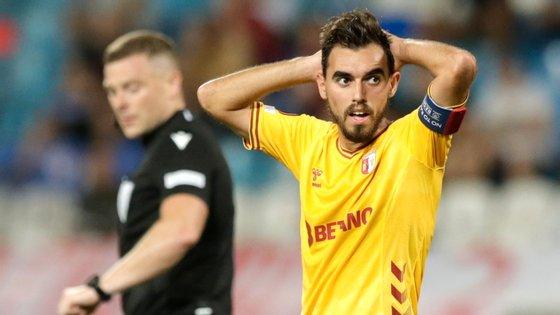 Ricardo Horta não marcou mas teve das melhores oportunidades de golo criadas pelos minhotos