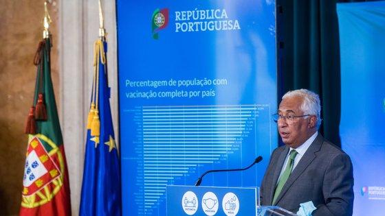 António Costa apresentou as medidas depois da reunião do Conselho de Ministros