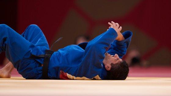 Lasha Shavdatuashvili foi um dos judocas georgianos expulsos dos Jogos, depois de ter conseguido uma medalha de prata
