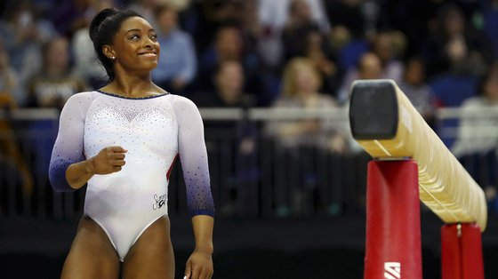A atleta norte-americana venceu quatro medalhas de ouro nos últimos Jogos, em 2016, no Rio de Janeiro