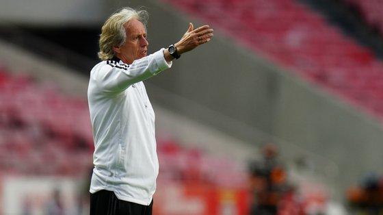 """Jorge Jesus está """"obrigado"""" a levar a equipa à fase de grupos da Champions, depois da eliminação da época passada frente ao PAOK"""