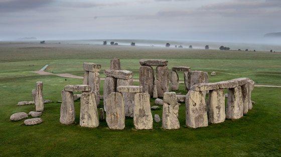 Stonehenge, datado de 3.100 a 2.075 anos a.C., é considerado o vestígio mais bem preservado do Período Neolítico