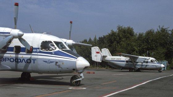 O avião era um Antonov An-28 da Siberian Light Aviation