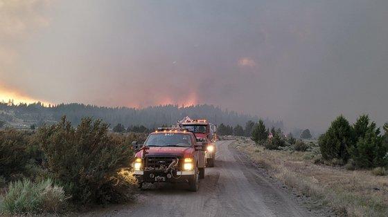 Os incêndios do Oregão, nos Estados Unidos, estão ativos há mais de duas semanas