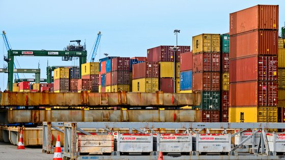PSA Containers Terminal XXI in the Port of Sines, Portugal