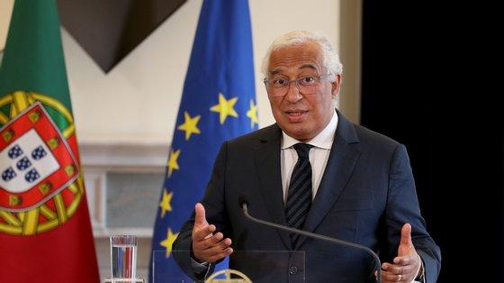"""Costa diz que se a Europa """"quer ter um futuro"""", precisa de mobilizar as """"forças da cidadania e, sobretudo, das próximas gerações"""""""