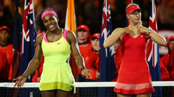 Serena Williams venceu Maria Sharapova em 20 das 22 partidas que disputaram