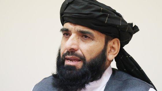 O governo talibã quer participar na Assembleia Geral da ONU, através do porta-voz Suhail Shaheen