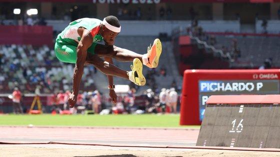 O atleta de 28 anos nunca tinha participado nos Jogos Olímpicos