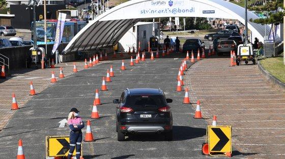 Sydney e o estado de Nova Gales do Sul têm apostado na testagem da população