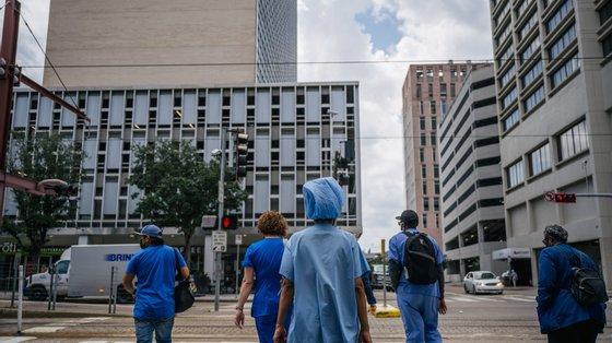 No final de maio, 117 funcionários do hospital deram início a um processo contra a entidade empregadora