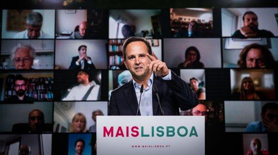 Fernando Medina apresentou esta segunda-feira o acordo com Rui Tavares para a candidatura a Lisboa