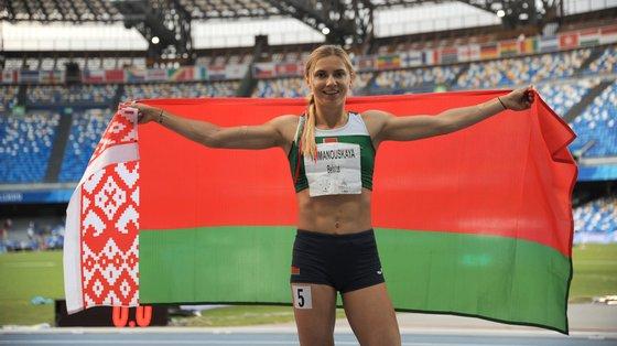 A atleta recebeu um visto humanitário do governo polaco