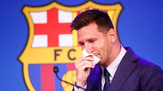 Messi fez 672 golos e 305 assistências pelo Barcelona
