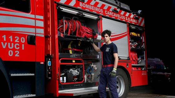 Nas buscas estiveram envolvidos cerca de 30 operacionais de seis corporações de bombeiros do distrito e da GNR