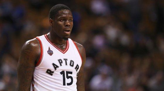O canadiano, aqui ainda ao serviço dos Toronto Raptors, foi desde logo uma primeira escolha controversa