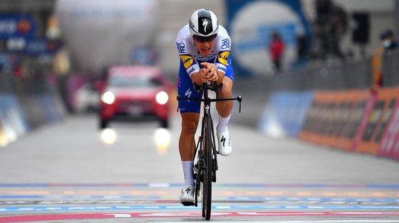 João Almeida fez o melhor tempo no contrarrelógio entre todos os corredores apontados ao top 3 do Giro de 2021