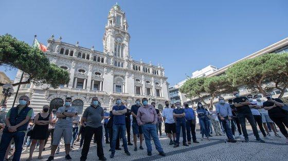 Um dia antes de o Governo se reunir com os especialistas na reunião do Infermed, o setor da restauração voltou a sair à rua em protesto contra as medidas implementadas pelo Governo