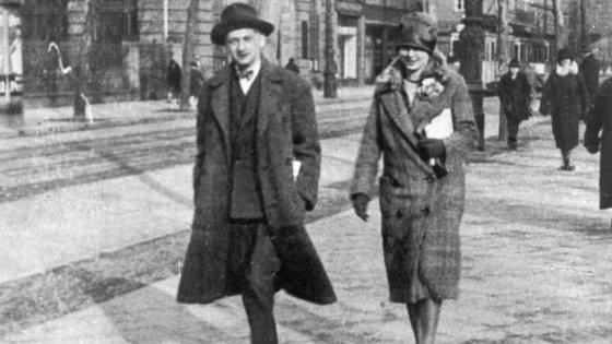 Joseph Roth em Paris, em 1925