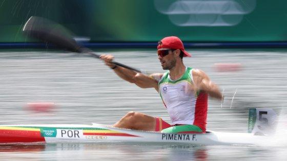 O canoísta tornou-se o quarto atleta português com duas medalhas olímpicas