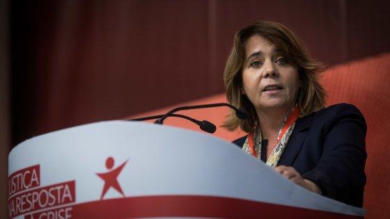 Catarina Martins tem-se focado as suas intervenções nas questões autárquicas, mantendo-se longe das negociações para o Orçamento do Estado para 2022