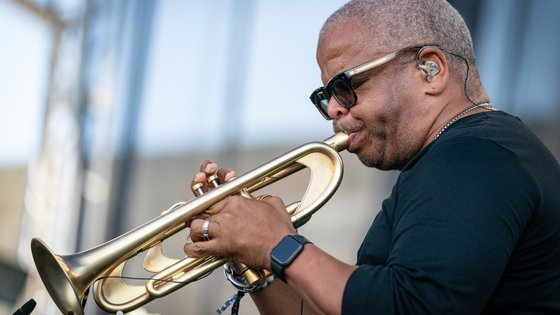 O trompetista Terence Blanchard escreveu bandas sonoras de muitos filmes Spike Lee
