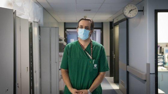 Roberto Roncon, médico internista e intensivista do Hospital São João, do Porto