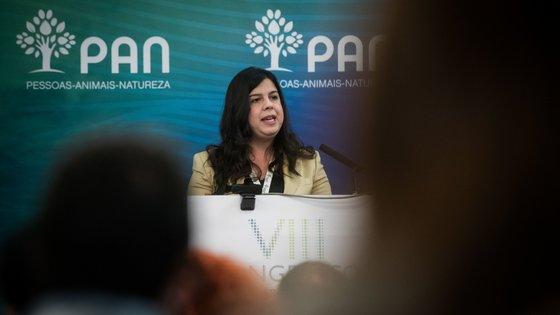 """Inês de Sousa Real disse que """"uma sociedade sustentável e resiliente é uma sociedade verde"""" e """"uma sociedade ambientalista"""""""