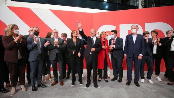 Bundestag Election - Election Party SPD