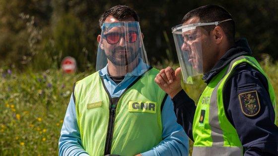 A operação contou com o reforço do Núcleo de Investigação Criminal (NIC) de Grândola e de Palmela