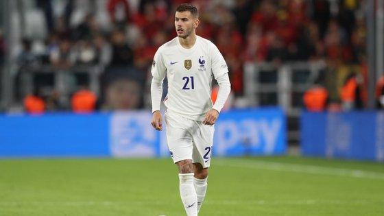 Lucas Hernández é jogador do Bayern Munique e da seleção francesa