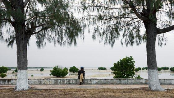 A embarcação saía de Pemba com destino à Ilha do Ibo