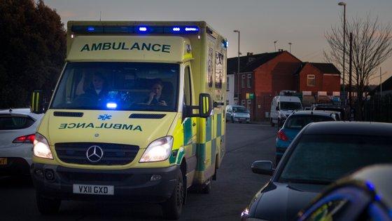 A vítima foi transportada em estado crítico, correndo perigo de vida, para o Hospital de Leiria