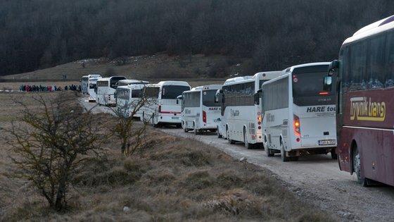 O acidente ocorreu perto da cidade de Slavonski Brod, na Croácia