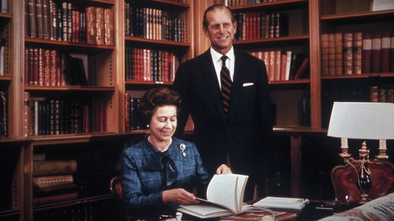 O escritório no Palácio de Buckingham foi, efetivamente, o epicentro da vida profissional do duque durante décadas