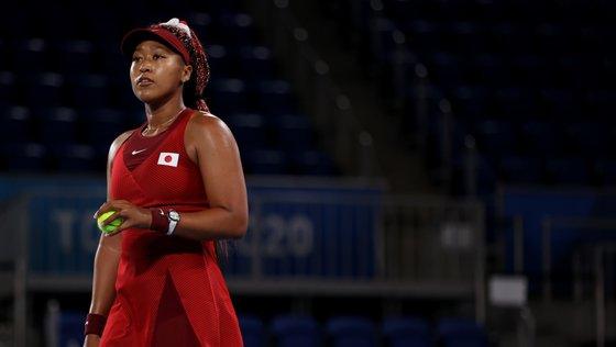 A tenista de 23 anos era uma das grandes candidatas à vitória, principalmente depois da eliminação de Ash Barty