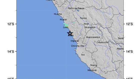 O Peru está situado na zona denominada Anel de Fogo do Pacífico, onde se regista aproximadamente 85% da atividade sísmica mundial