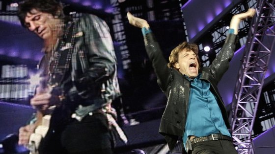 Rolling Stones atuam, esta quinta-feira, no Rock in Rio, em Lisboa